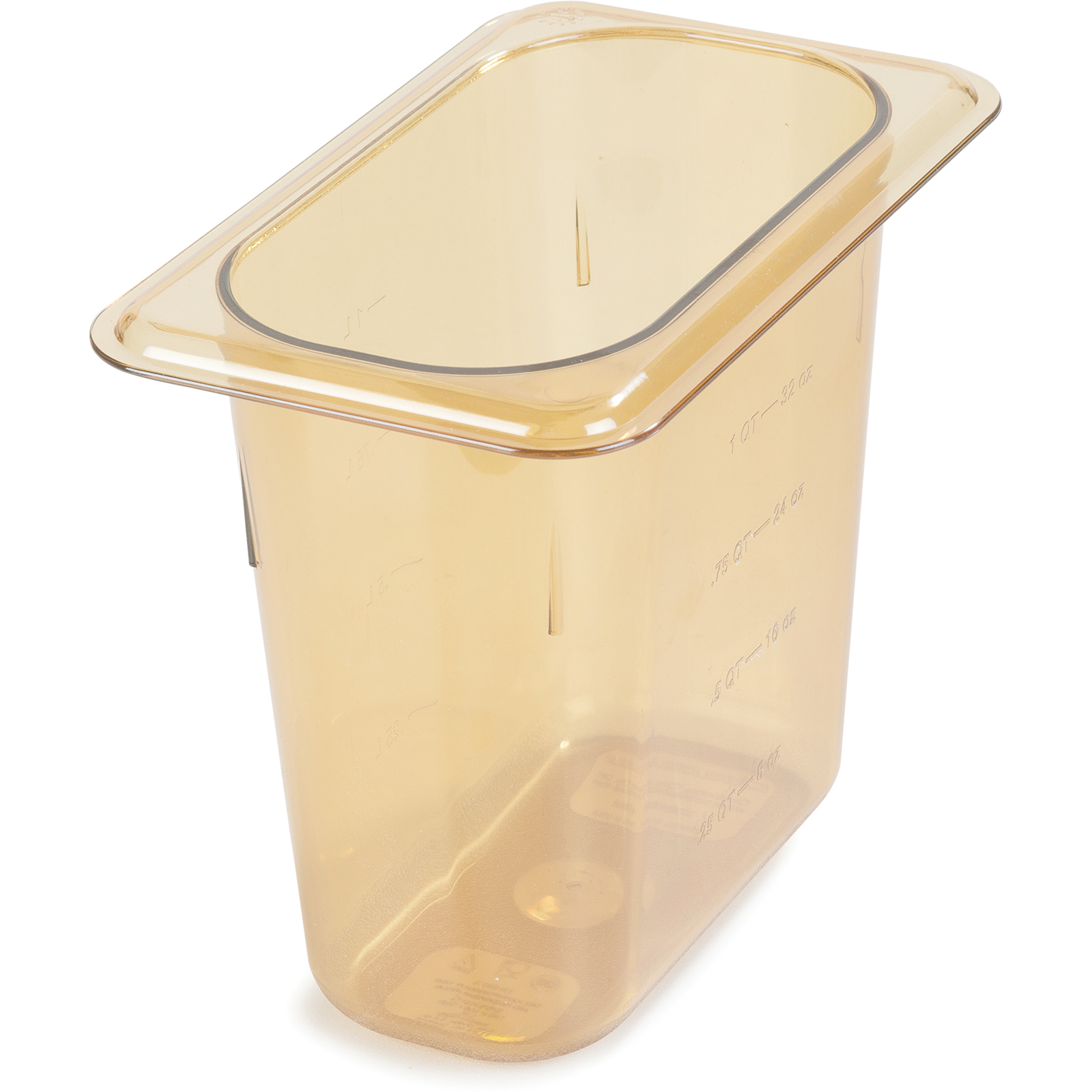 Carlisle 3088813 food pan, hi-temp plastic
