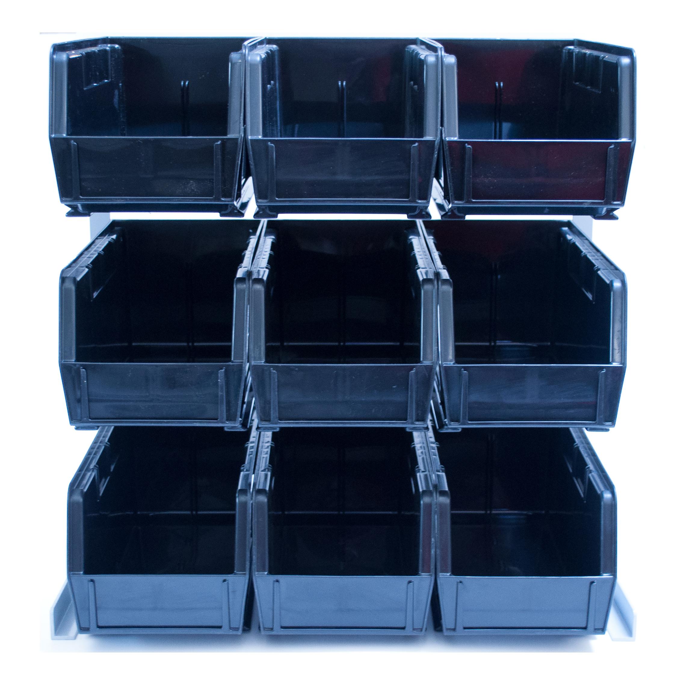 Carlisle 381109LG condiment organizer bin rack