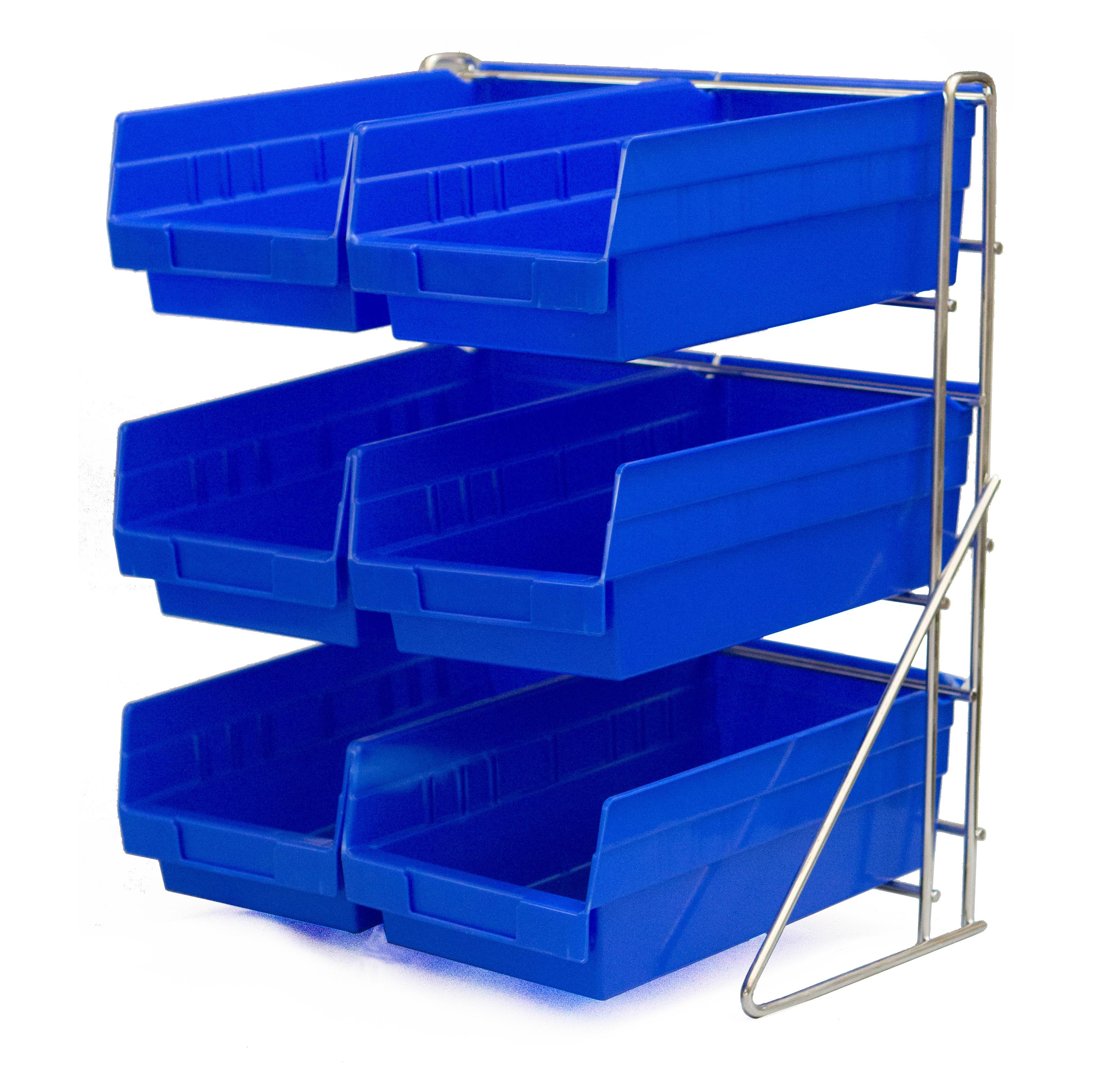 Carlisle 381206LG condiment organizer bin rack