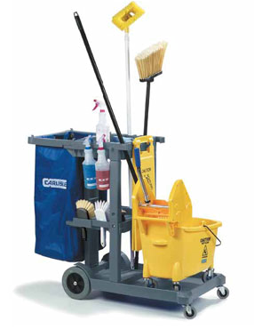 Carlisle JC1945S23 janitor cart
