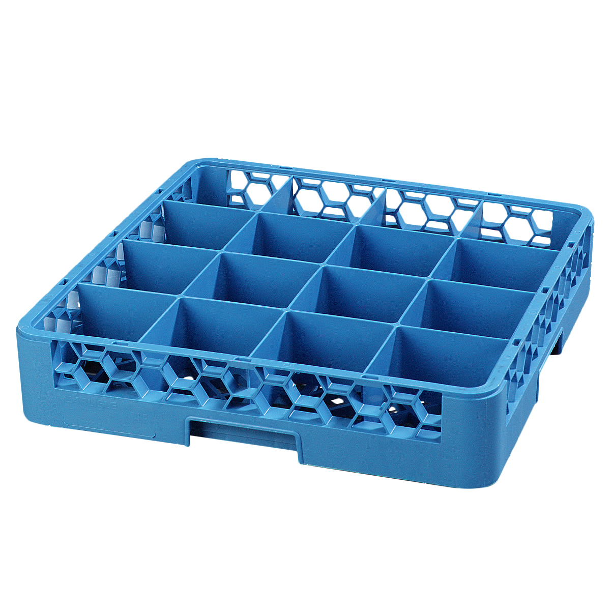 Carlisle RC1614 dishwasher rack, cup compartment