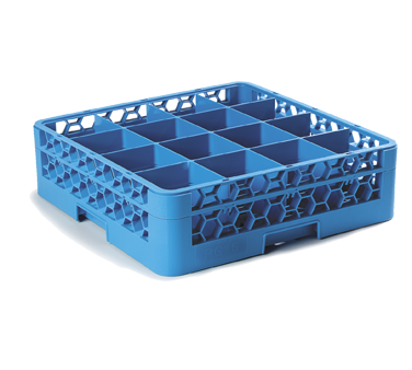 Carlisle RG16-114 dishwasher rack, glass compartment
