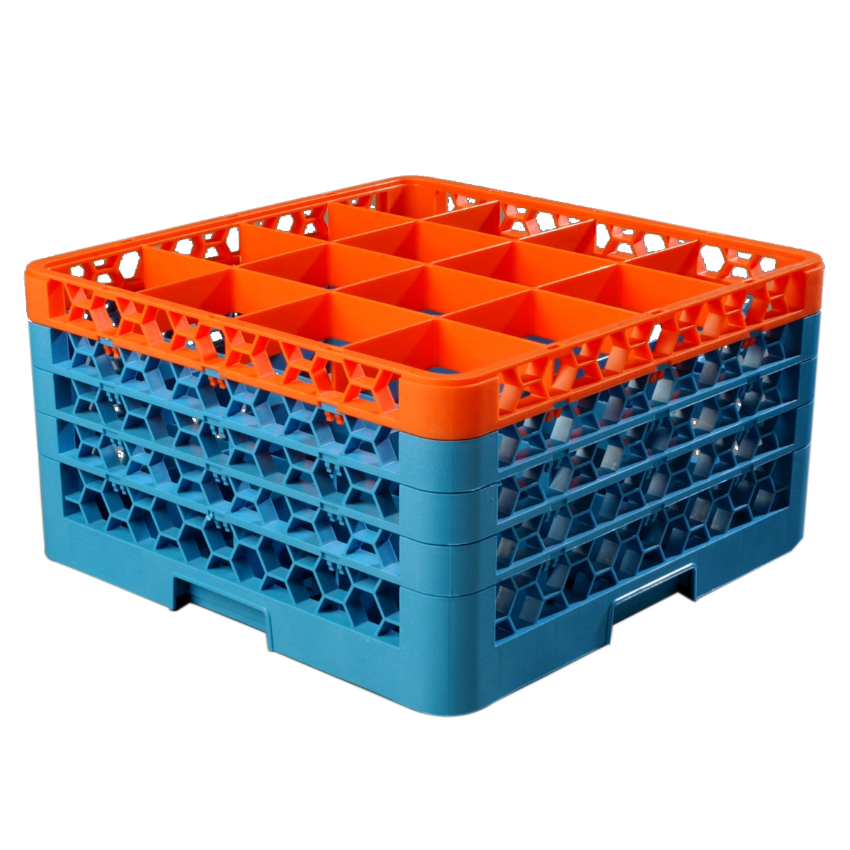 Carlisle RG16-4C412 dishwasher rack, glass compartment