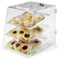 Carlisle SPD300KD07 display case, pastry, countertop