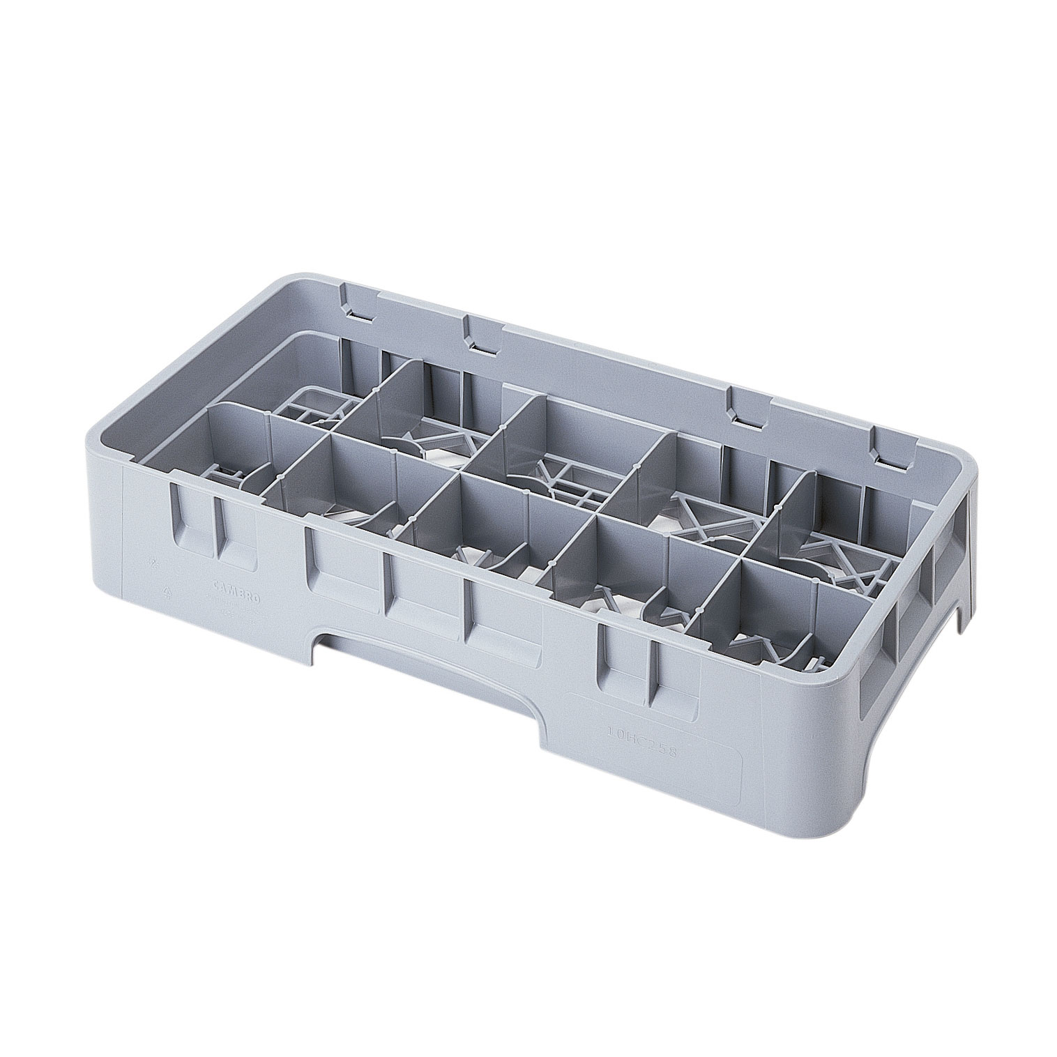 Cambro 10HC258151 dishwasher rack, cup compartment
