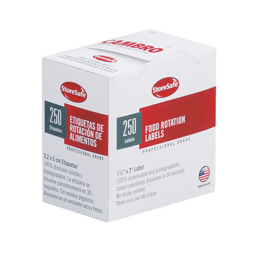 Cambro 1252SLB250 stickers (labels)