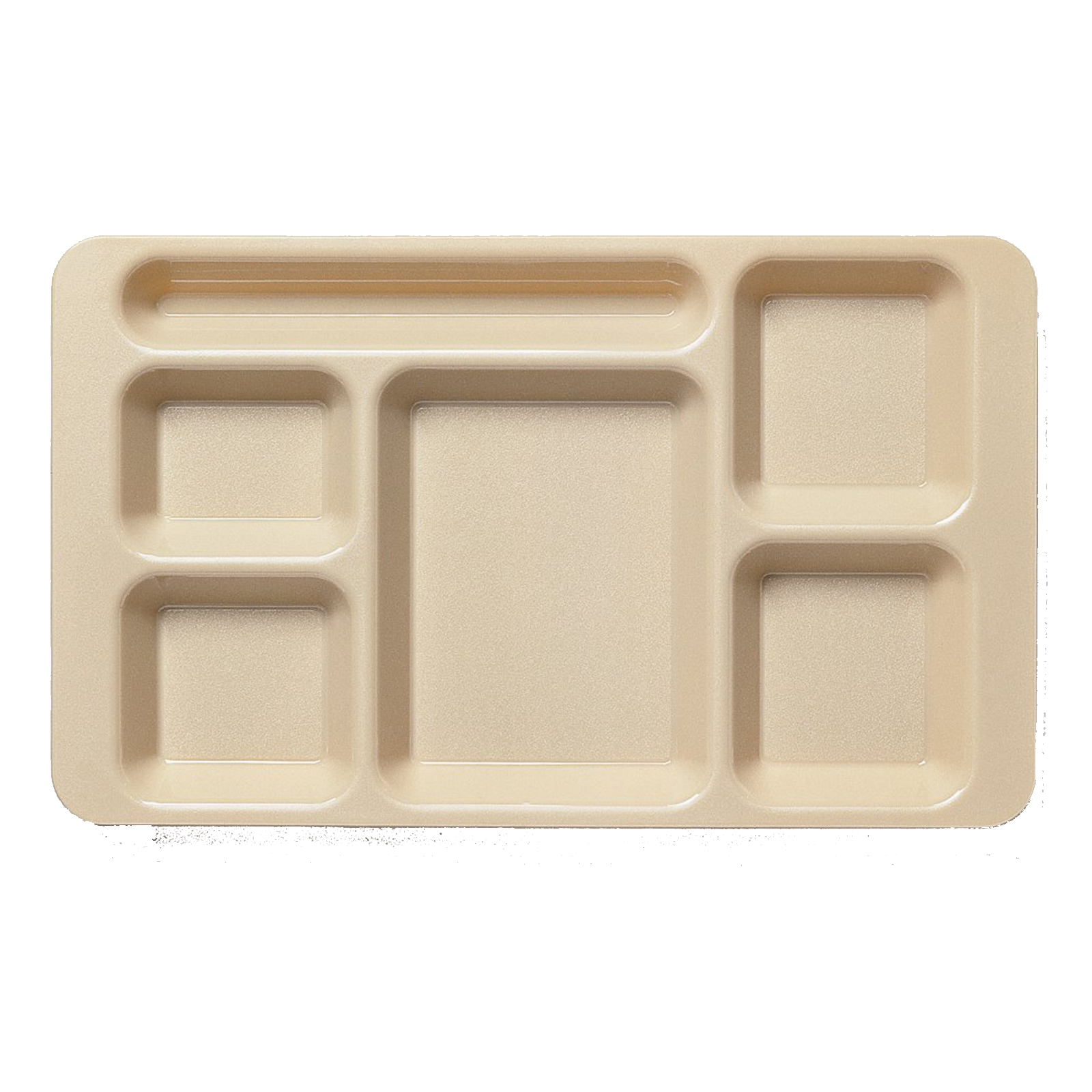 Cambro 1596CW431 tray, compartment, plastic