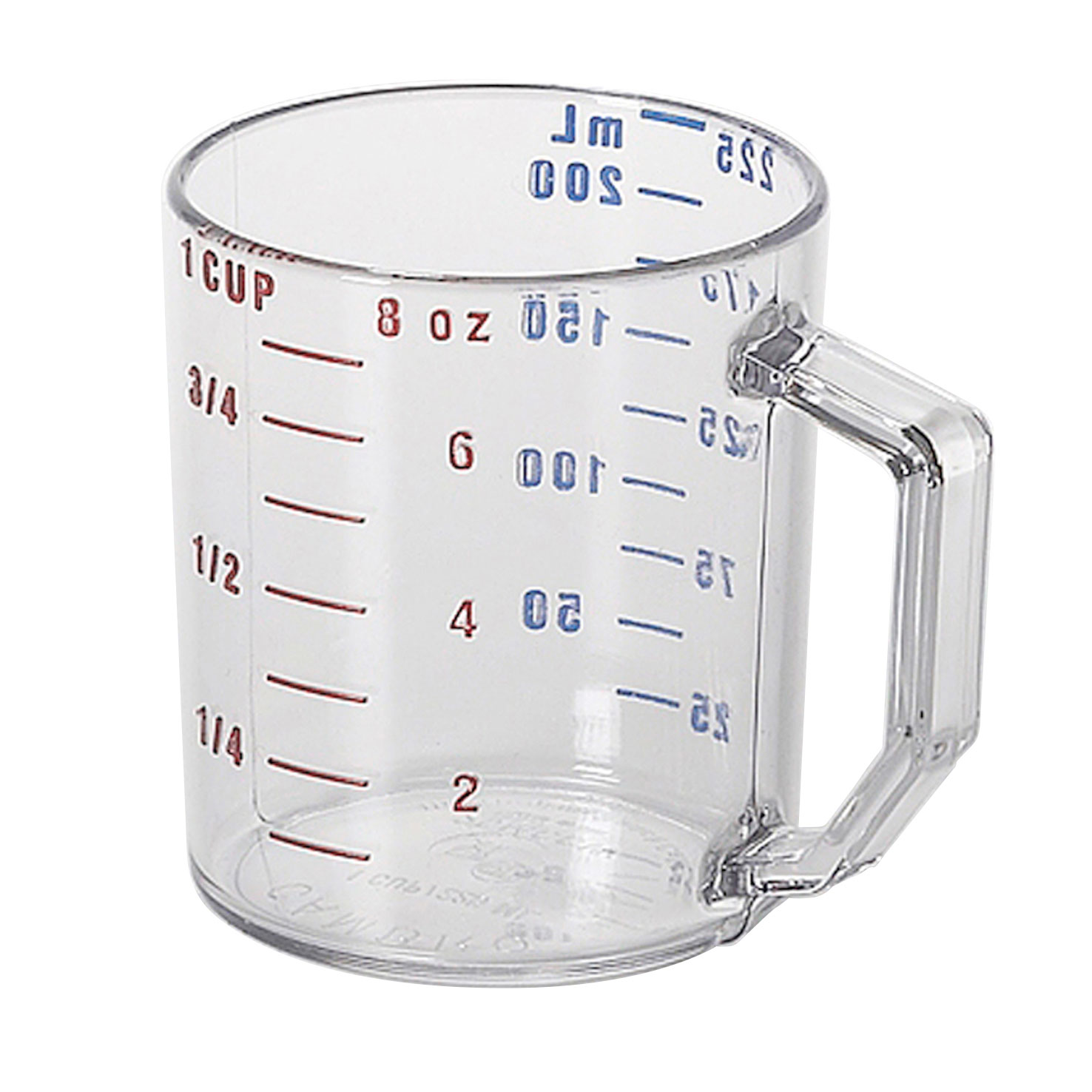 Cambro 25MCCW135 measuring cups
