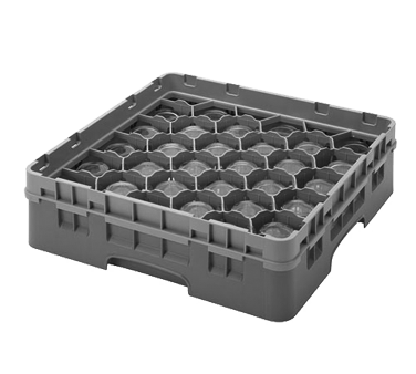 Cambro 30S318151 dishwasher rack, glass compartment
