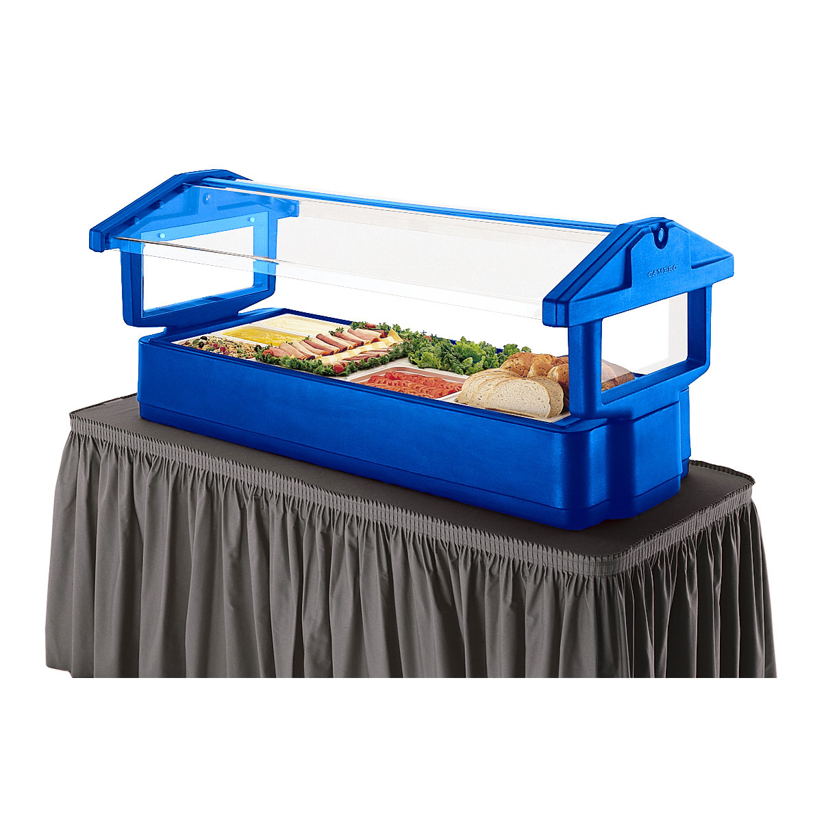 Cambro 4FBRTT186 cold food buffet, tabletop