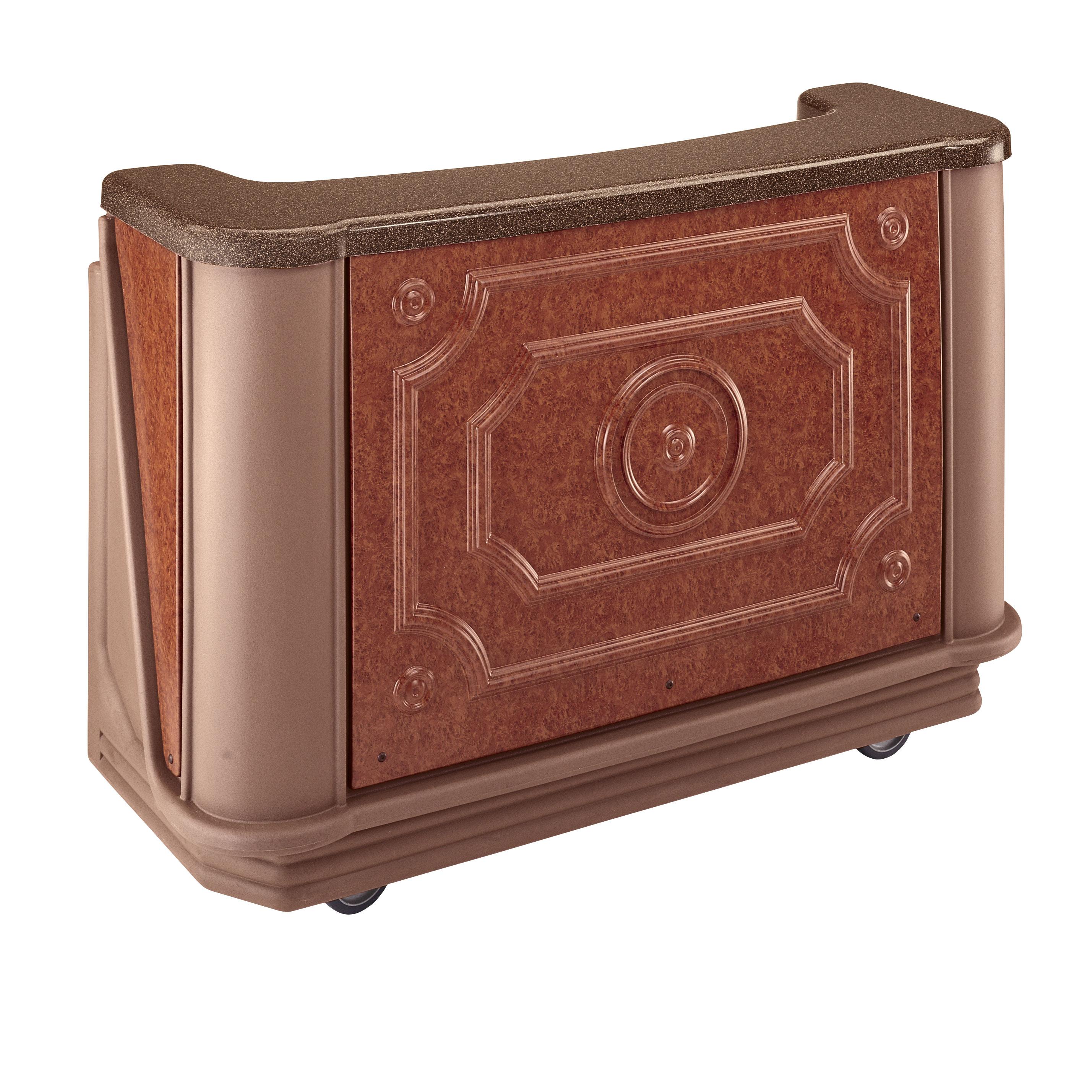 Cambro BAR650DSPM668 portable bar