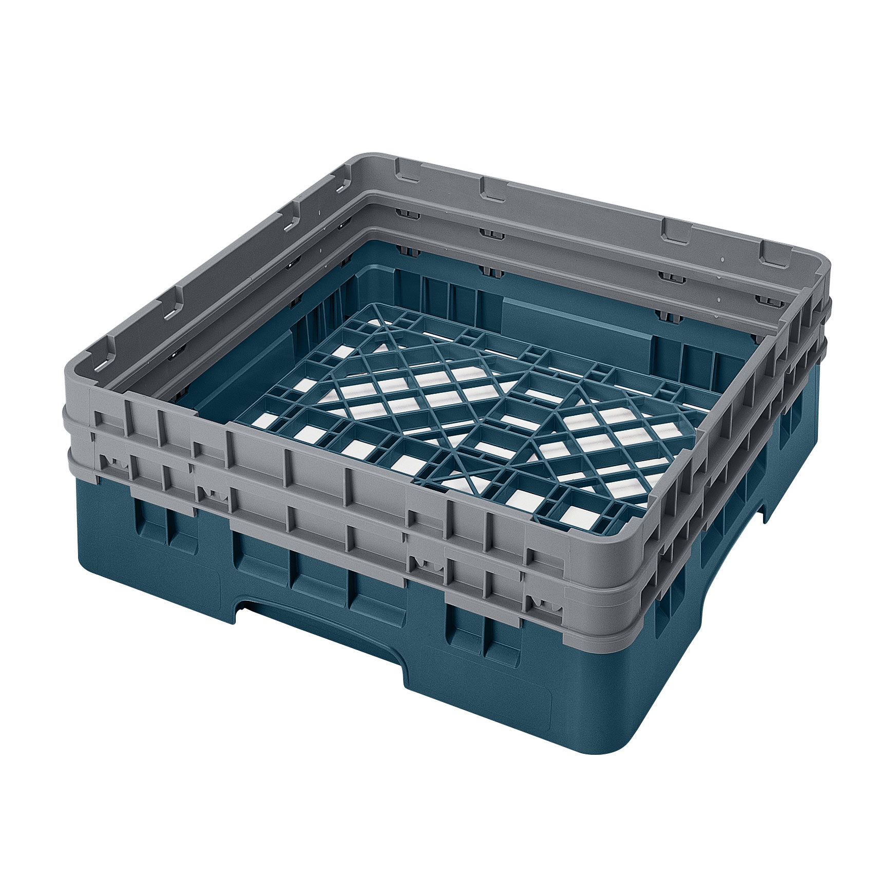 Cambro BR578414 dishwasher rack, open