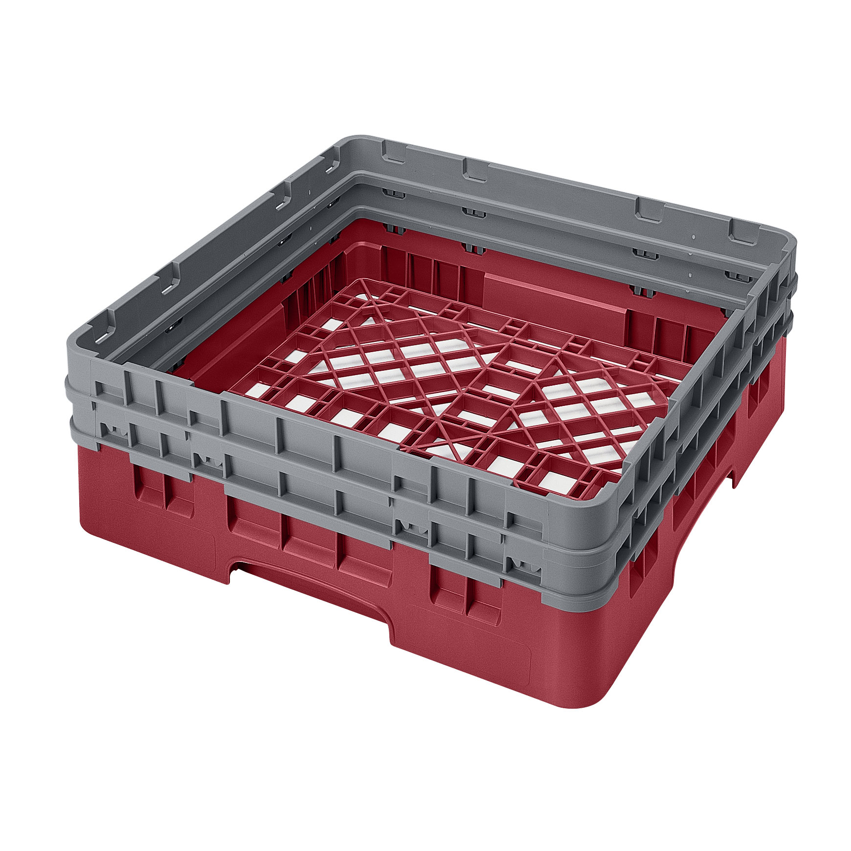 Cambro BR578416 dishwasher rack, open
