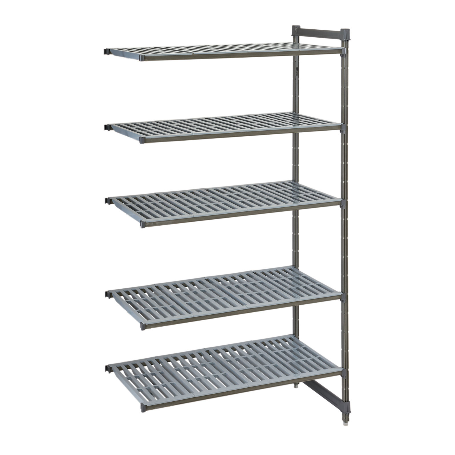 Cambro CBA183664V5580 shelving unit, all plastic