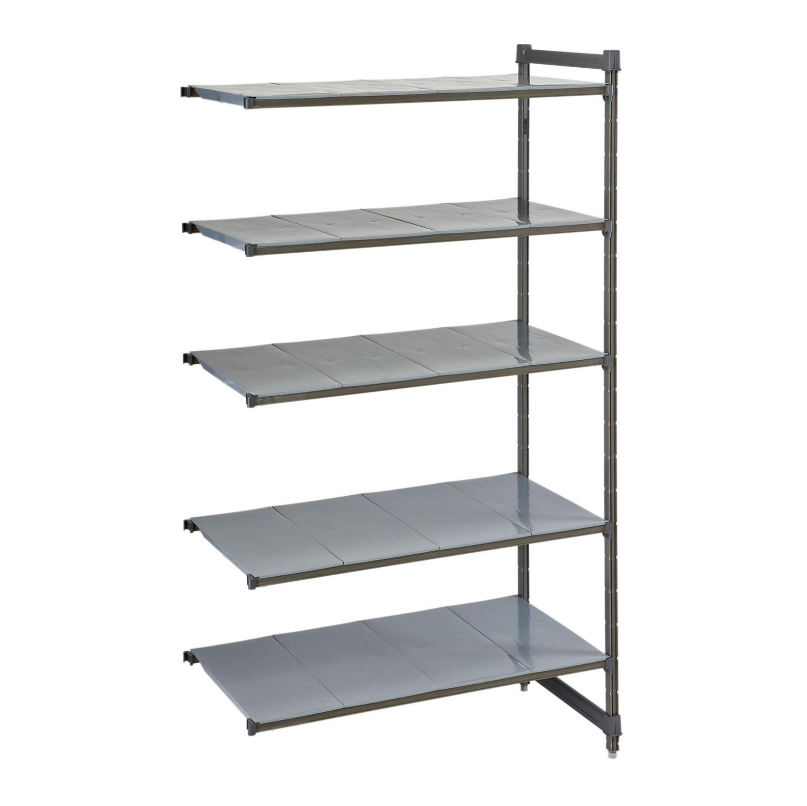 Cambro CBA186084S5580 shelving unit, all plastic