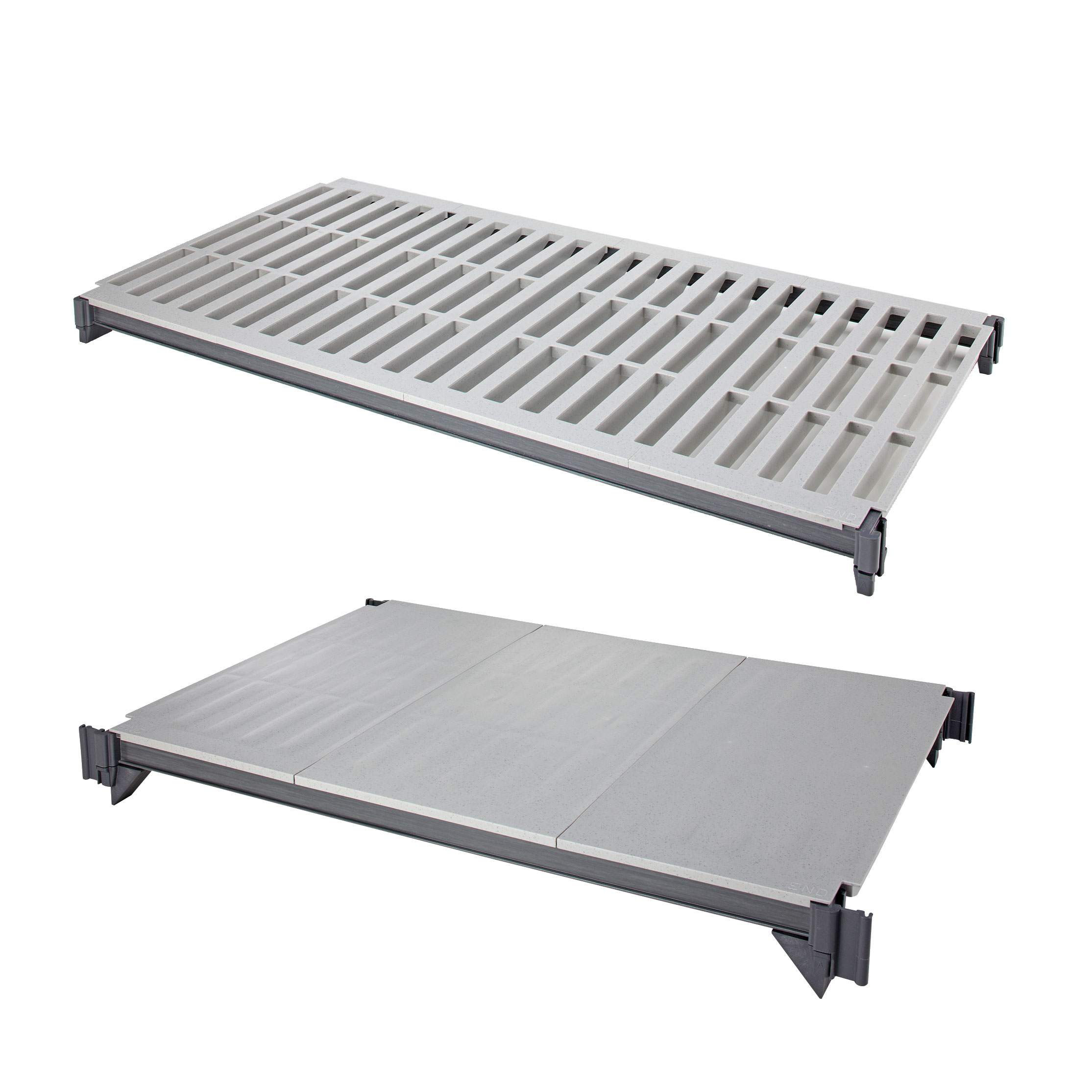 Cambro CBSK1842VS5580 shelving, all plastic