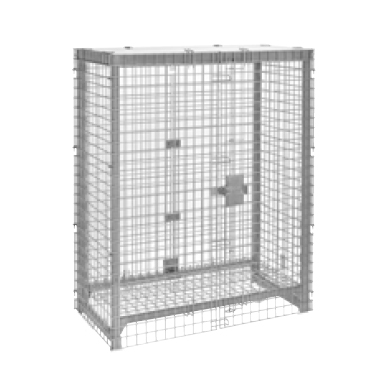 Cambro CPFWSC244860000 security enclosure kit