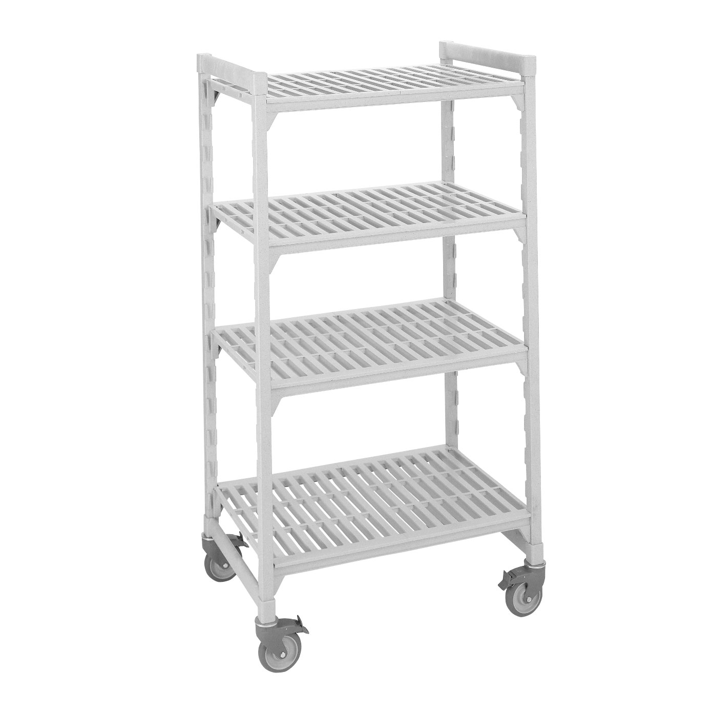Cambro CPHU245467S4480 shelving unit, plastic with poly exterior steel posts