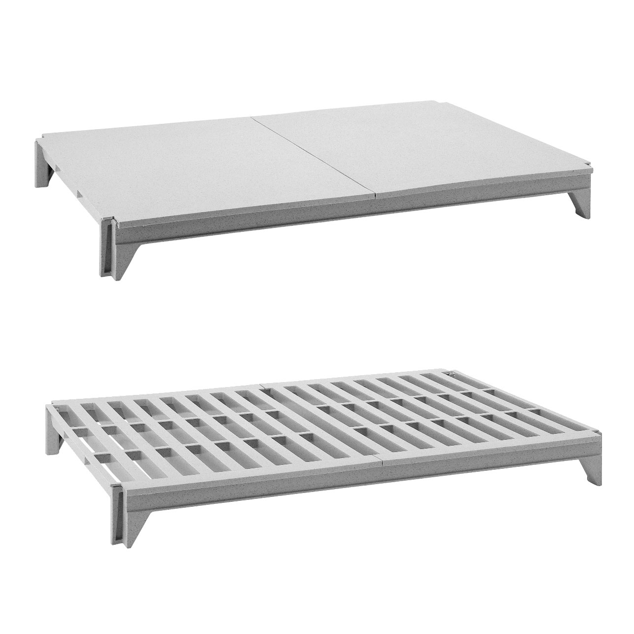 Cambro CPSK2142VS4480 shelving, all plastic