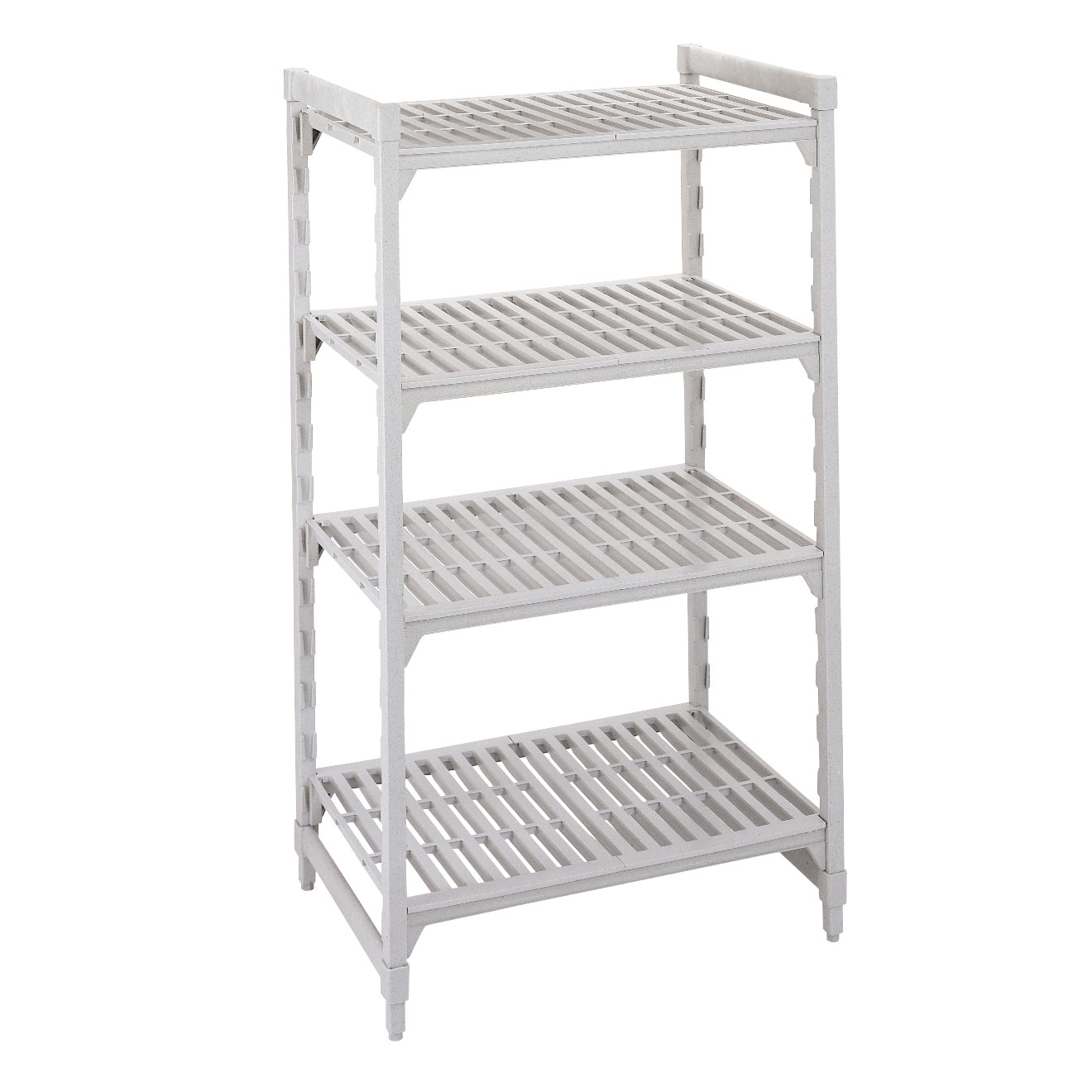 CPU186064V4480 Cambro shelving unit, plastic with poly exterior steel posts