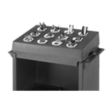 Cambro CR12401 tray/dish cart