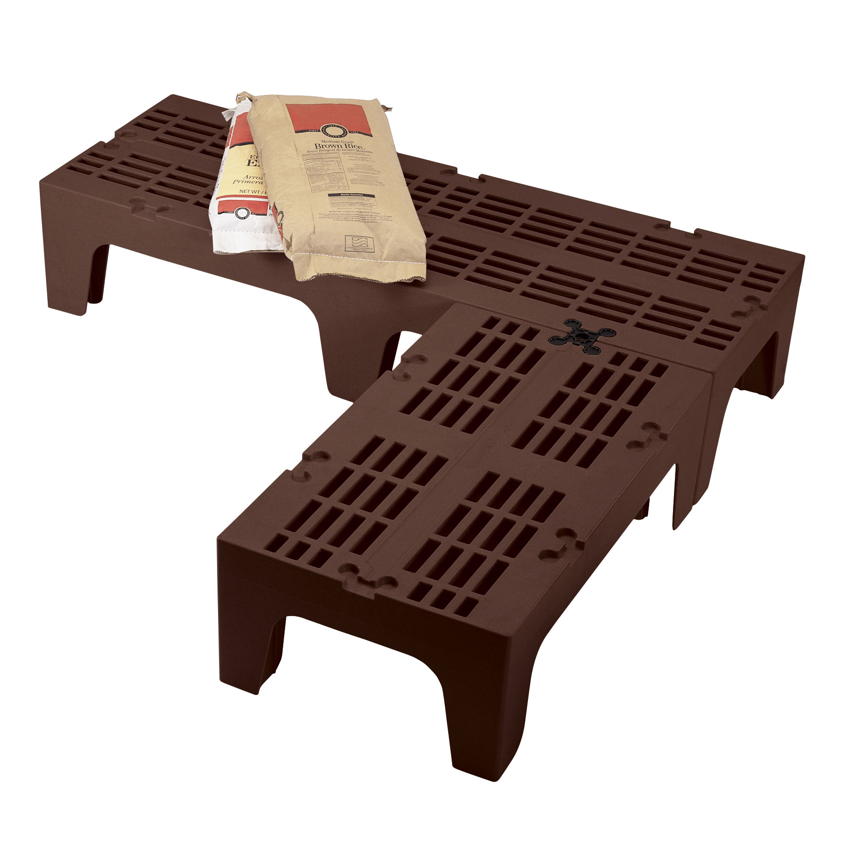 Cambro DRS300131 dunnage rack, vented