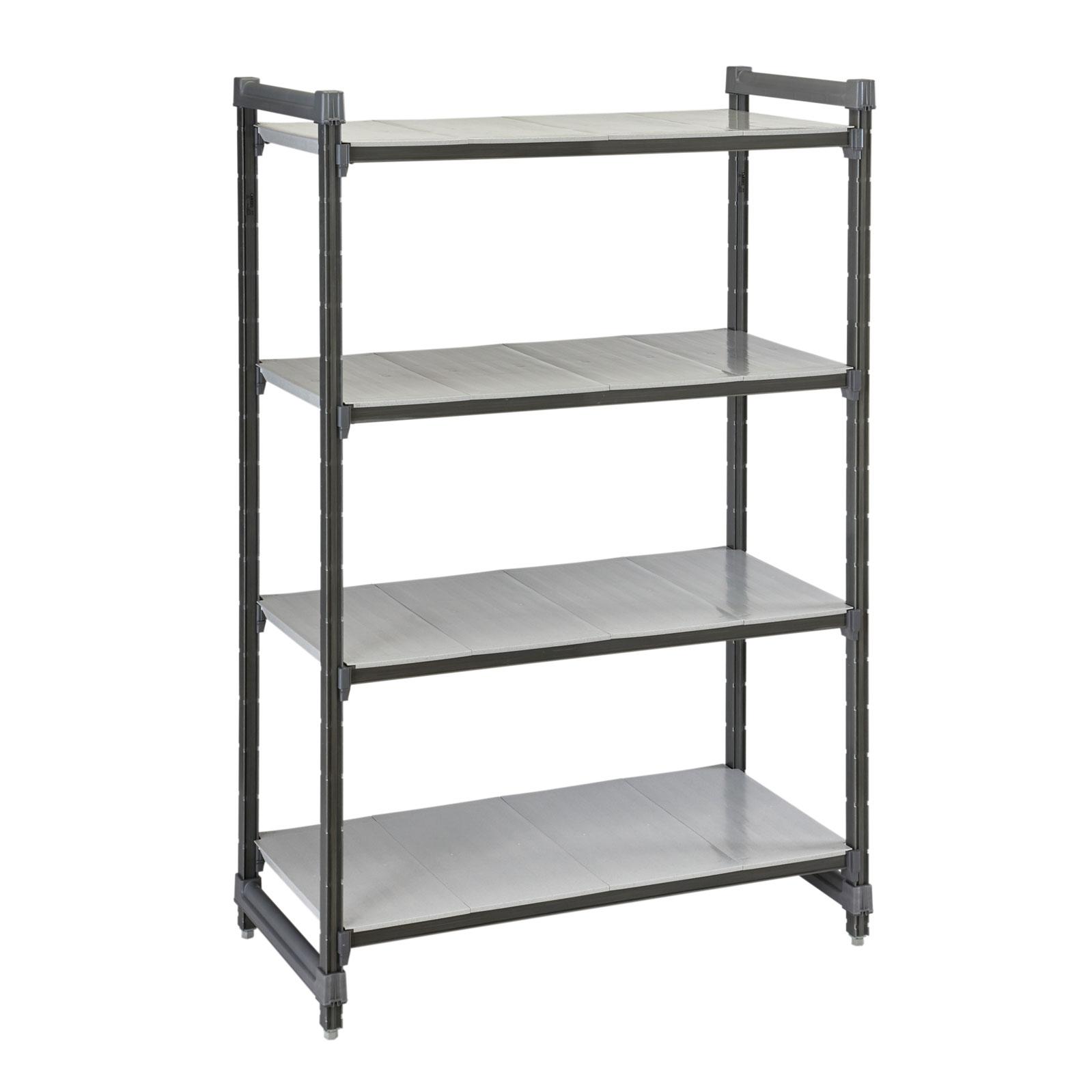 Cambro ESU247272S4580 shelving unit, all plastic