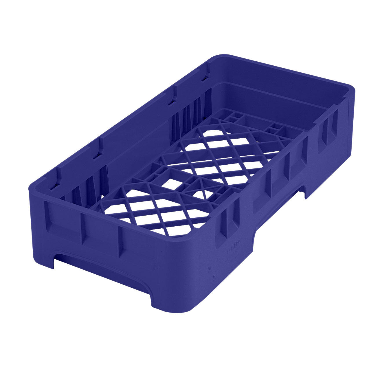 Cambro HBR258186 dishwasher rack, open