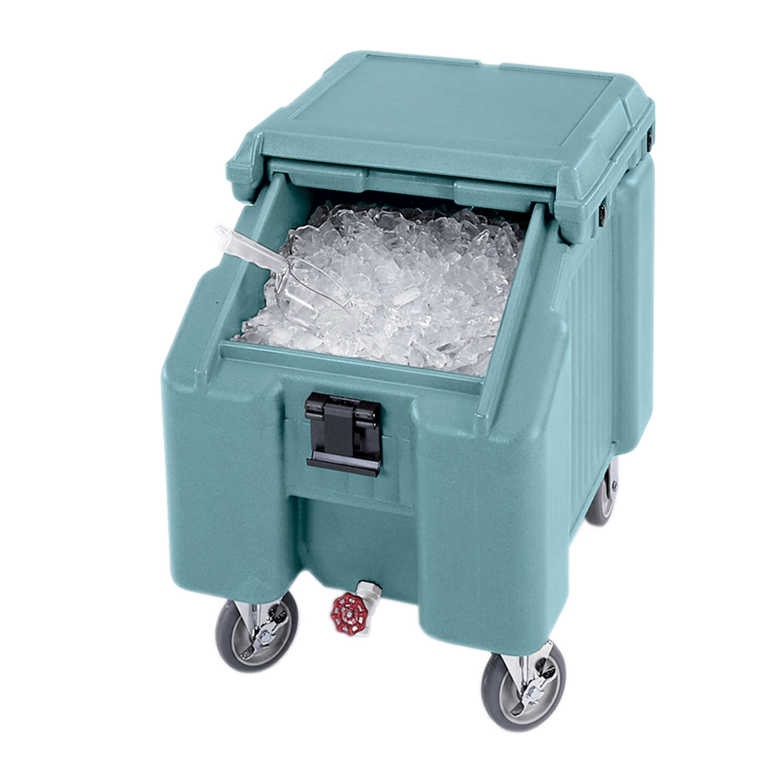 Cambro ICS100L401 ice bin / ice caddy , mobile