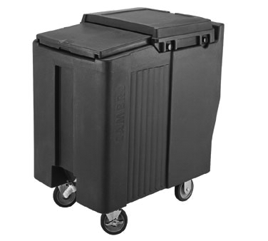 Cambro ICS125T401 ice bin / ice caddy , mobile