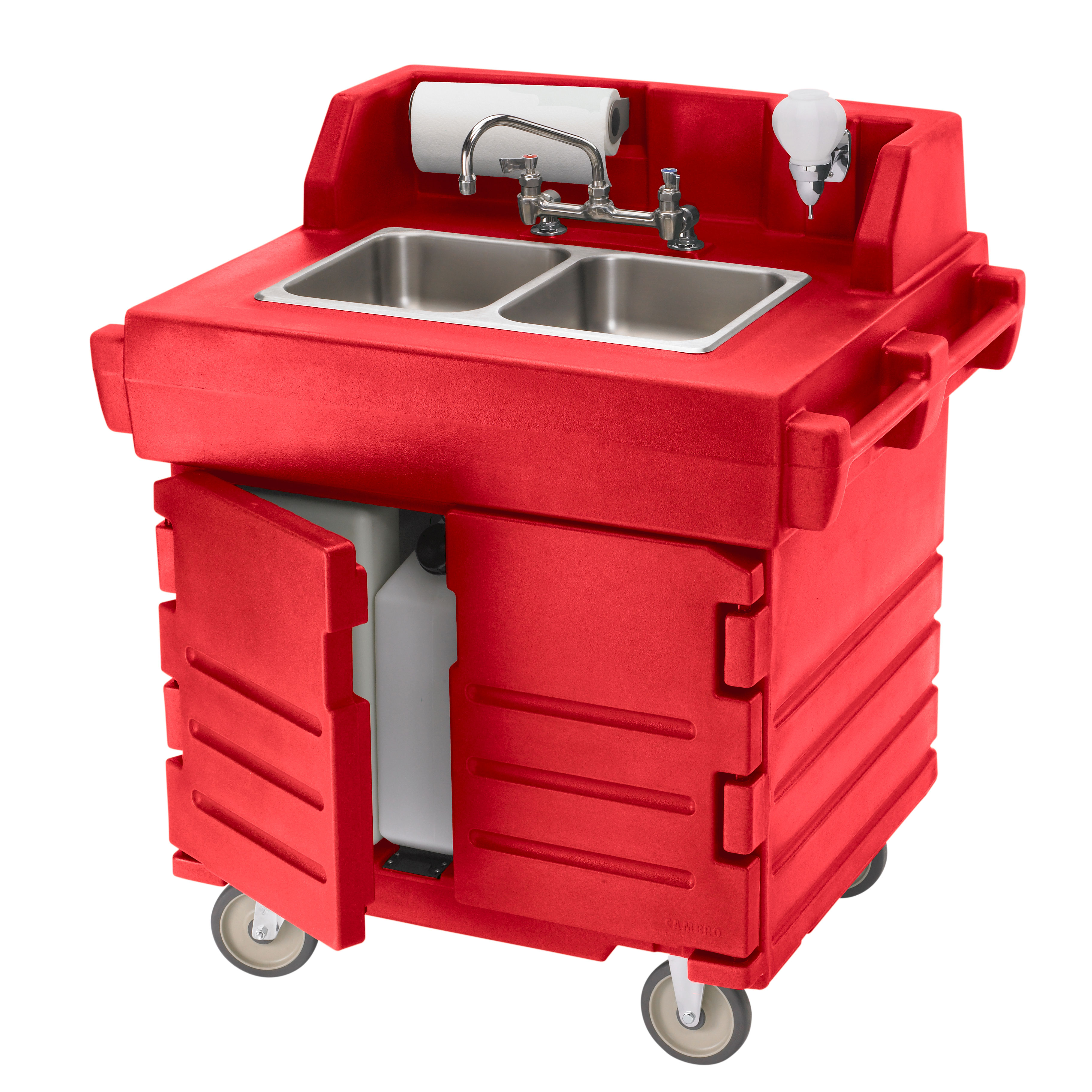 Cambro KSC402158 hand sink, mobile