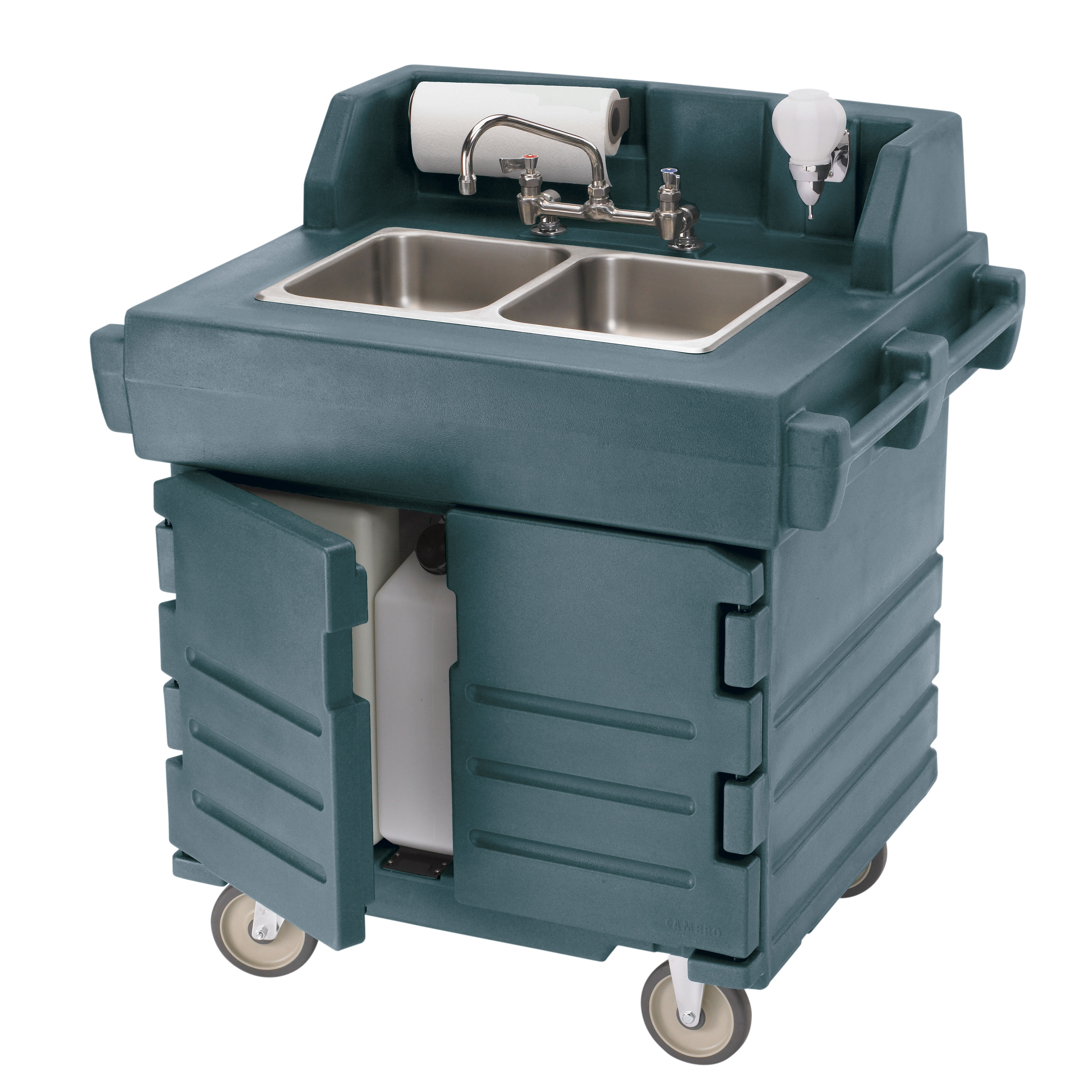 Cambro KSC402191 hand sink, mobile