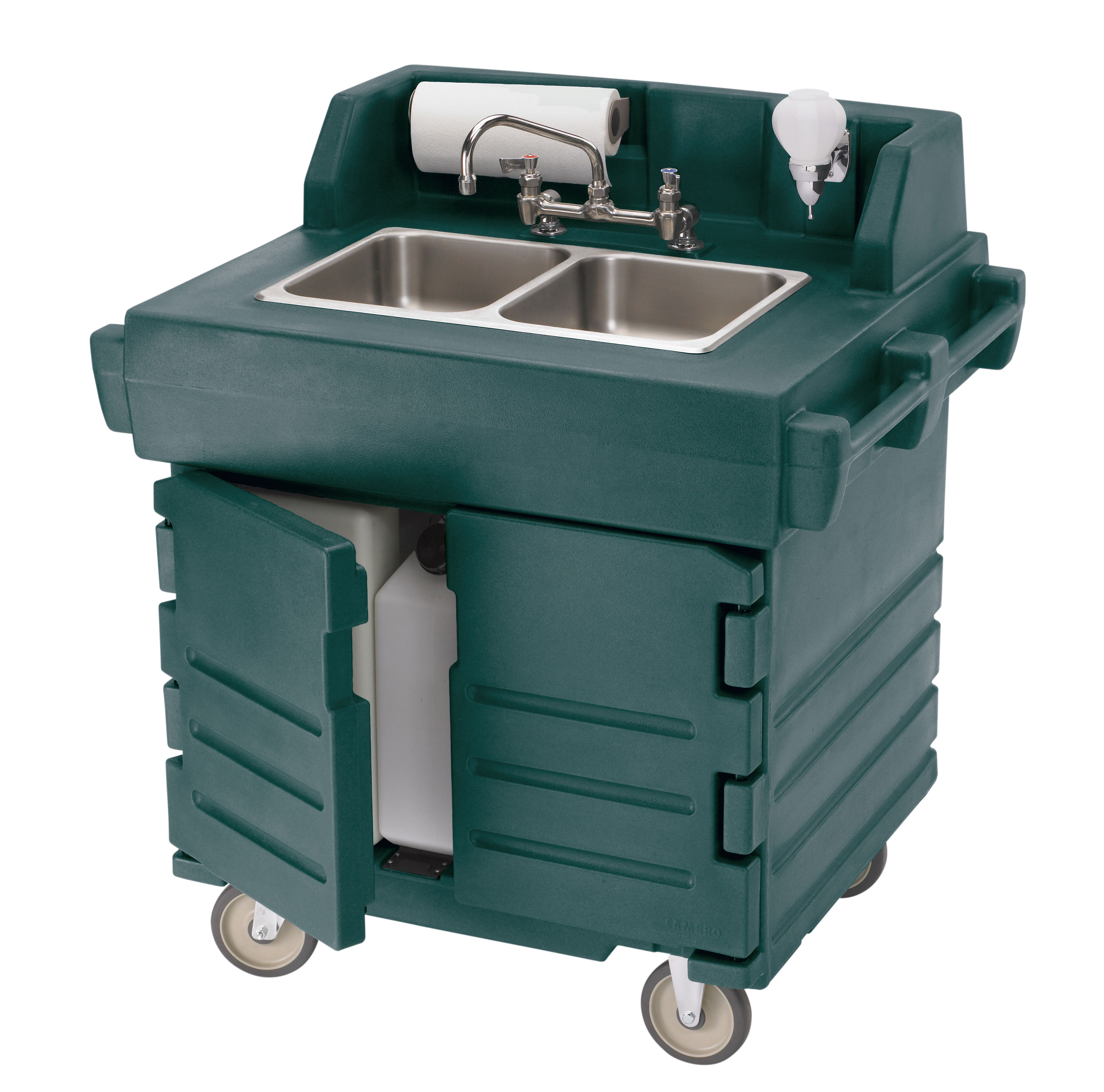 Cambro KSC402192 hand sink, mobile