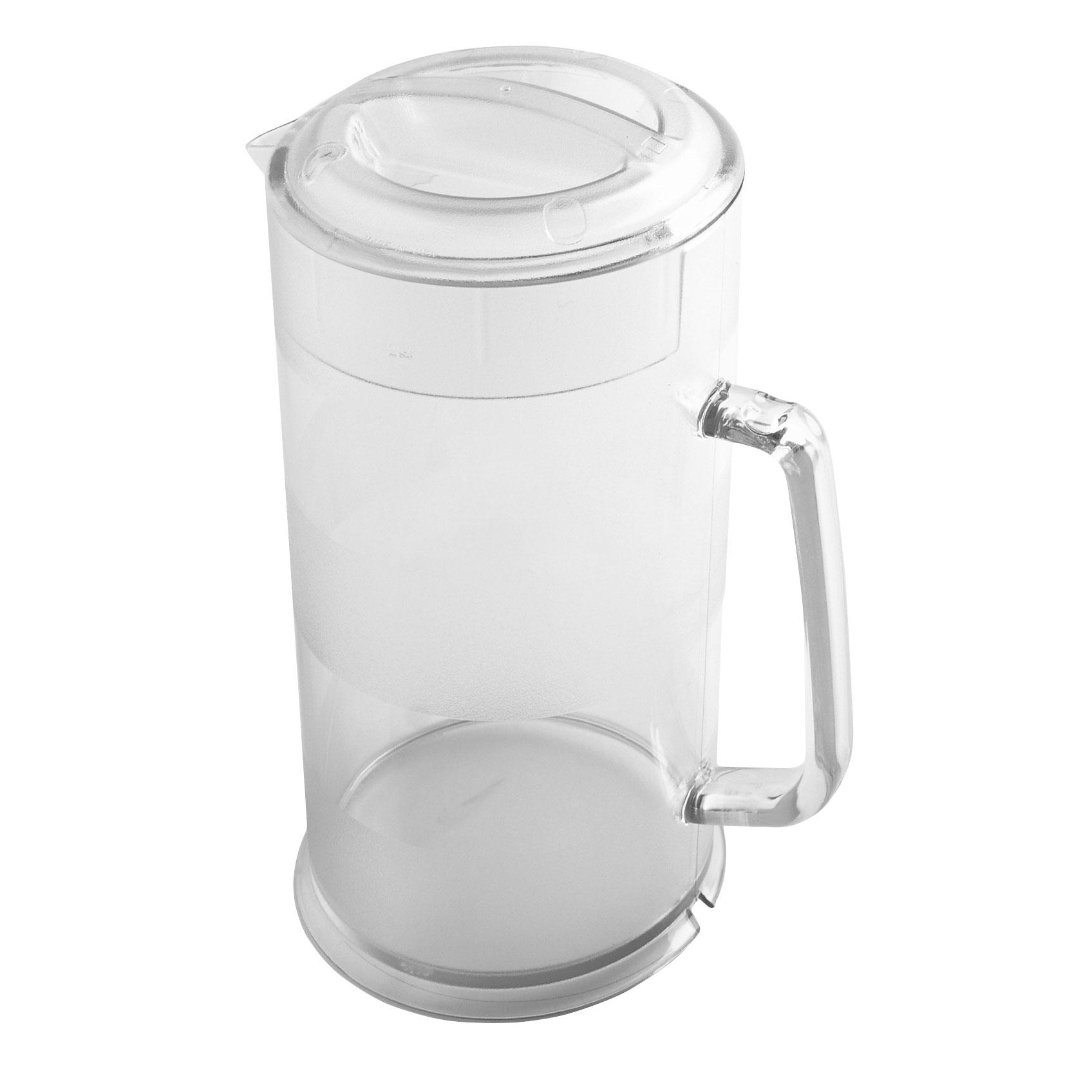 Cambro PC64CW135 pitcher, plastic