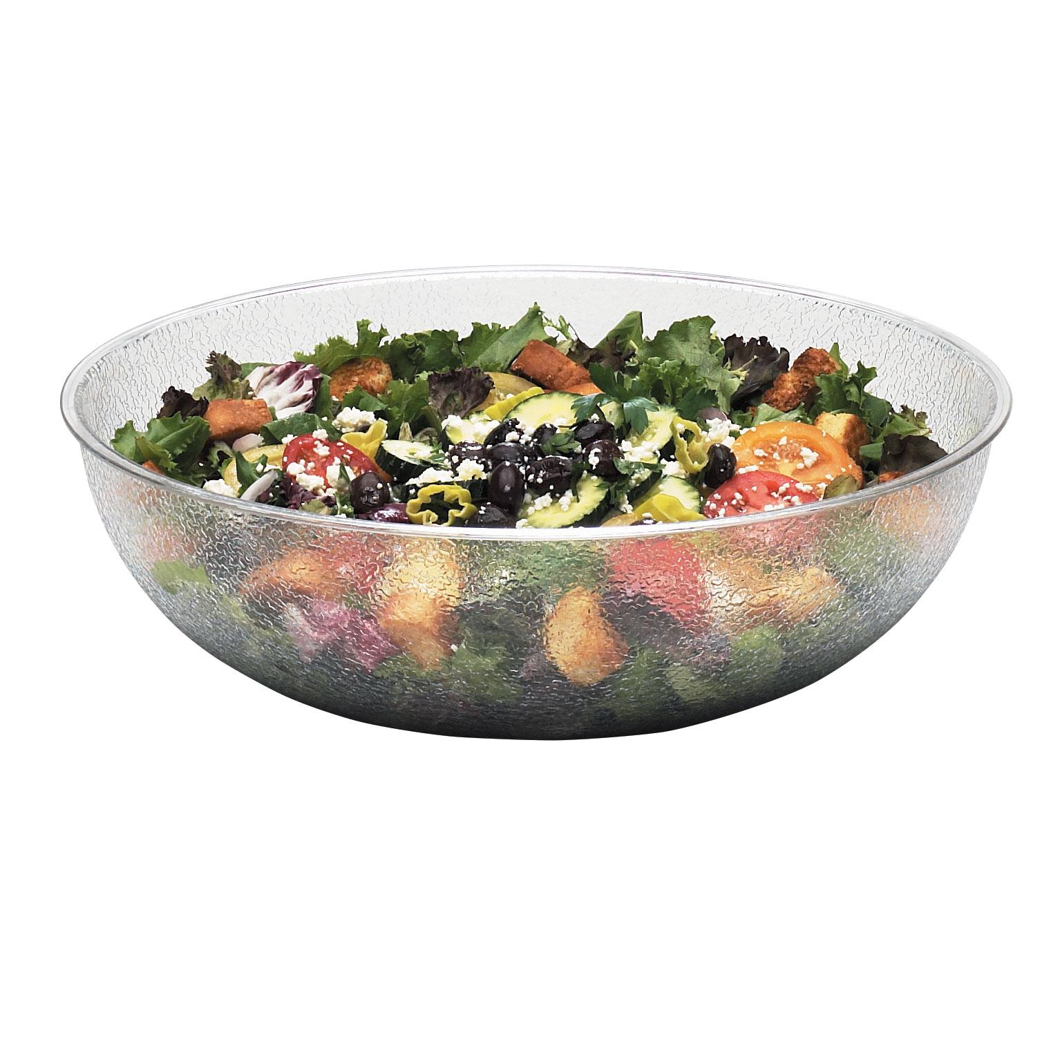 Cambro PSB15176 serving bowl, salad pasta, plastic