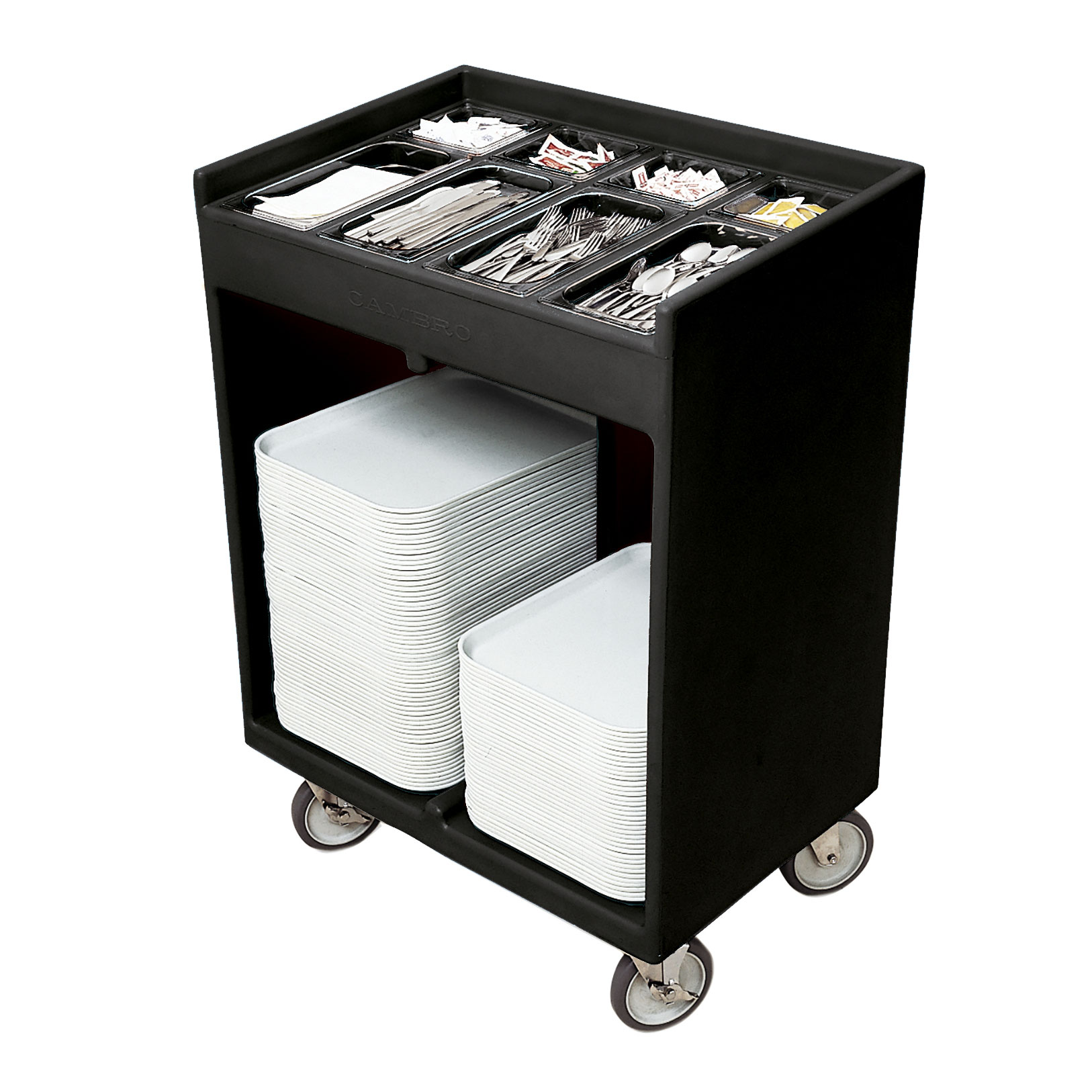 Cambro TC1418110 tray/silver cart