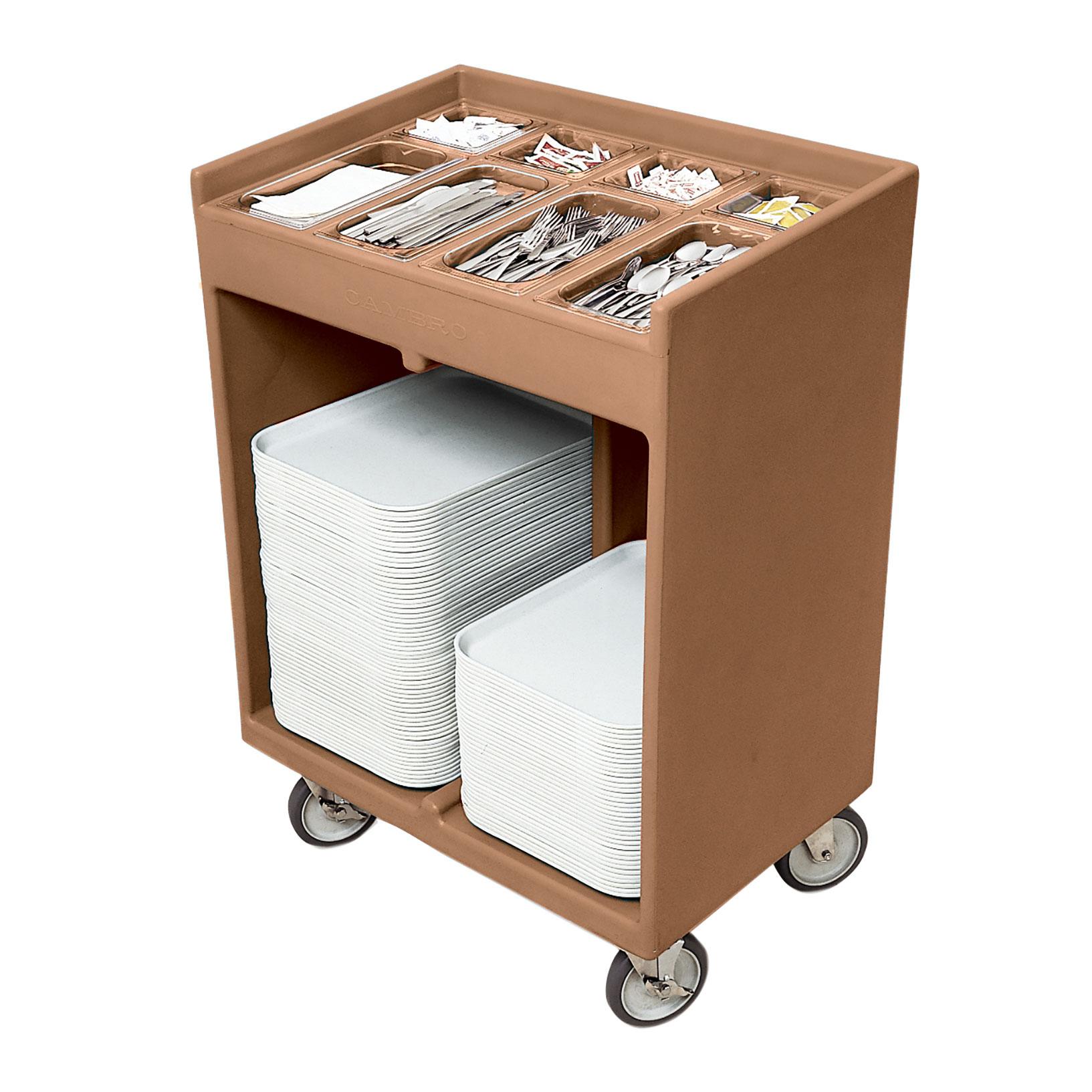 Cambro TC1418157 tray/silver cart