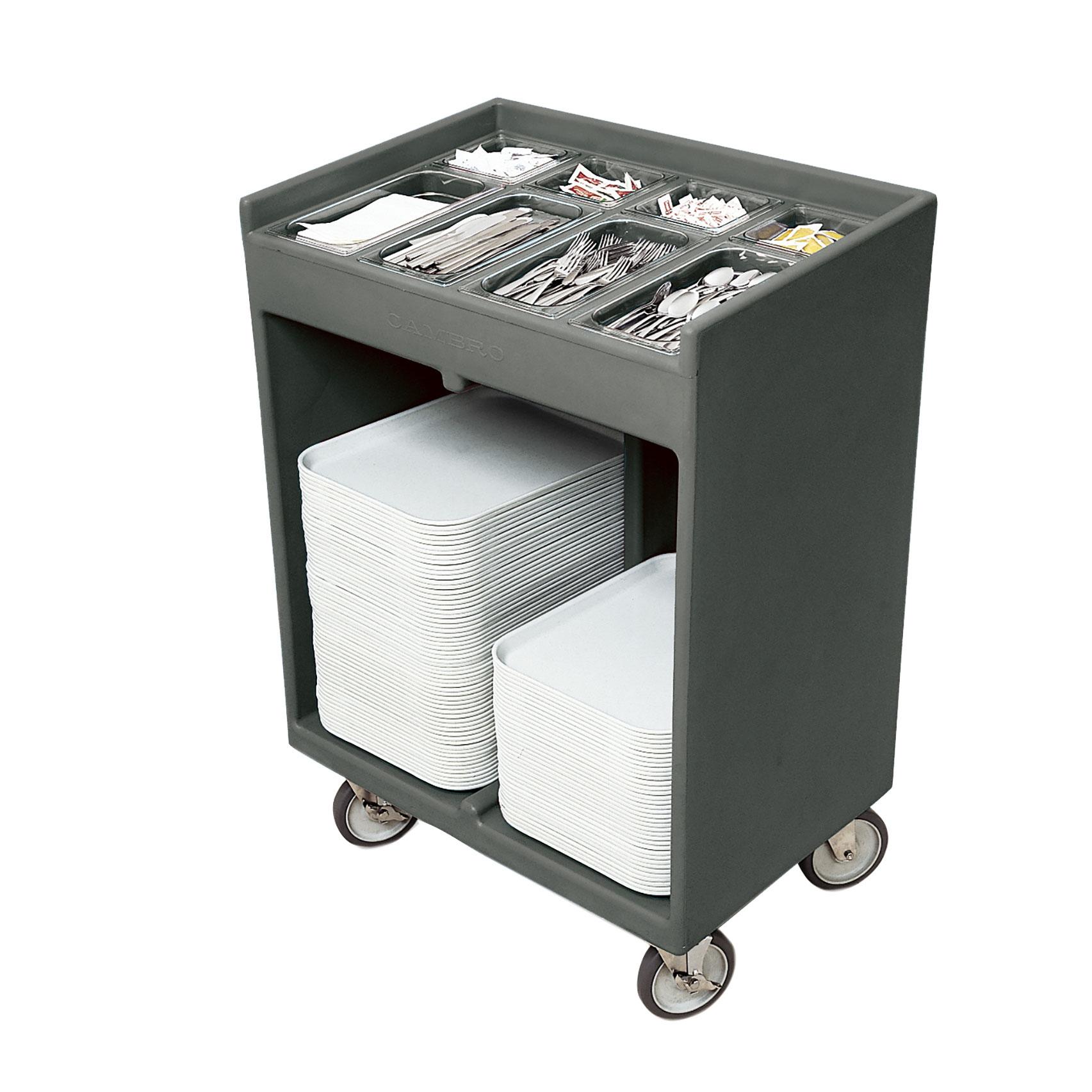 Cambro TC1418191 tray/silver cart