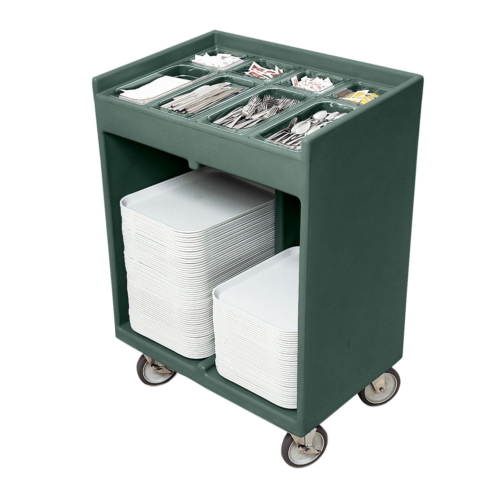 Cambro TC1418192 tray/silver cart