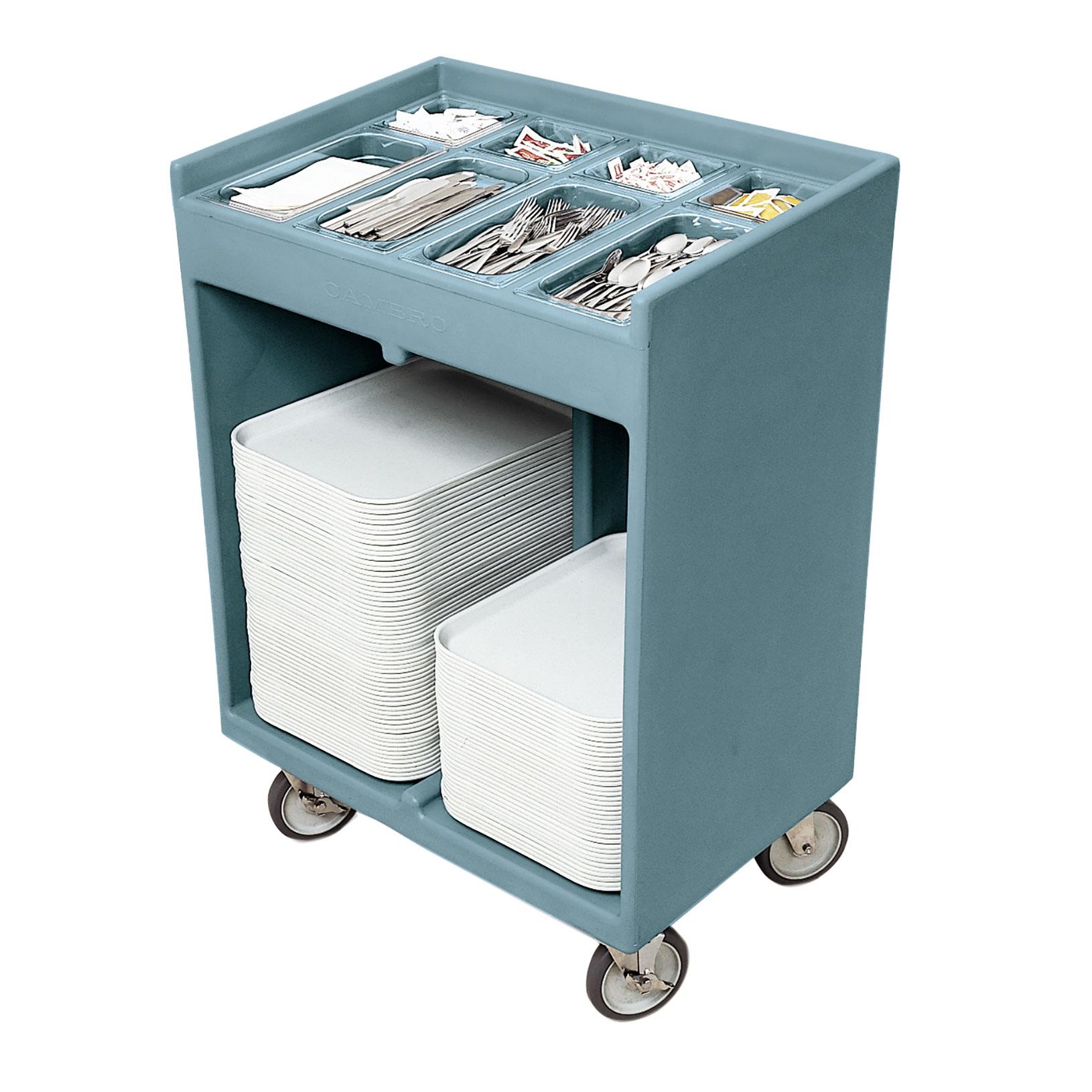 Cambro TC1418401 tray/silver cart