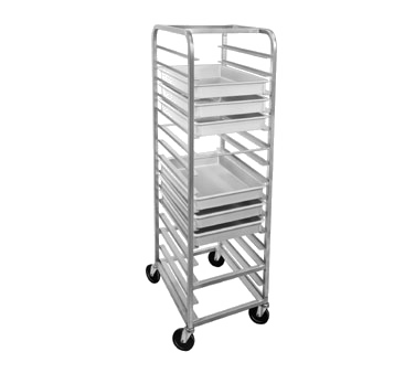 RB-4 Channel Manufacturing pan rack, pizza