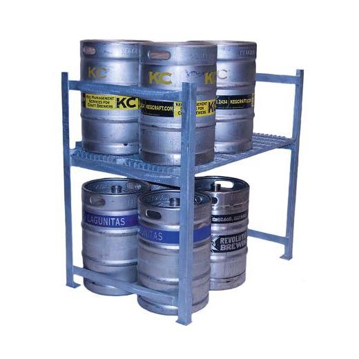 Cooler Concepts Inc. DKS48 keg storage rack