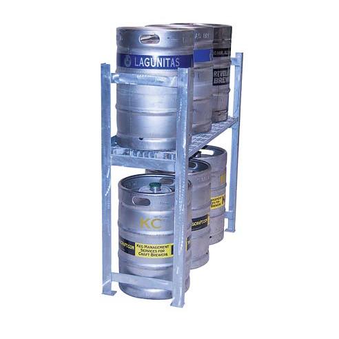 Cooler Concepts Inc. SKS48-EX keg storage rack