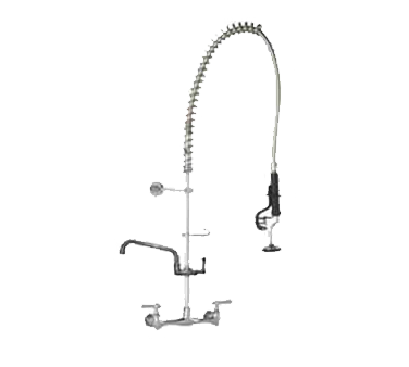 Component Hardware TLL13-1100-AF6Z pre-rinse faucet assembly, with add on faucet