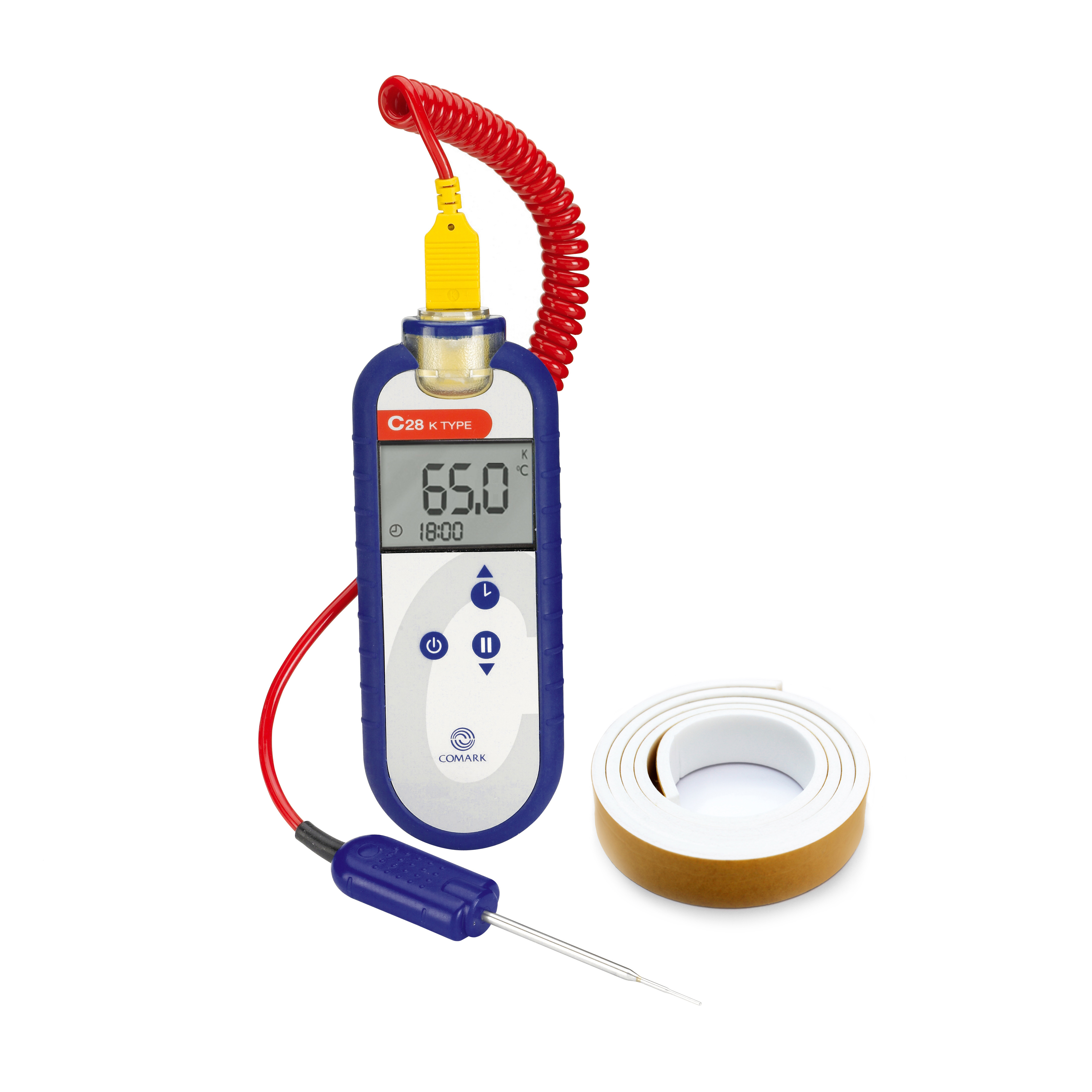 Comark Instruments (Fluke) C48/P21 thermometer, thermocouple