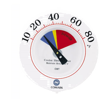 Comark Instruments (Fluke) CWT thermometer, window wall