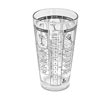 Crown Brands, LLC MG578 glass, mixing