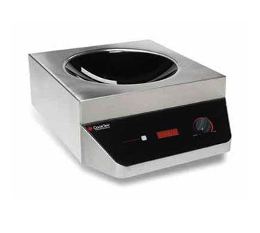 CookTek 605801 induction range, wok, countertop