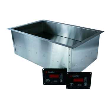 CookTek 635501 induction food pan warmer, drop-in
