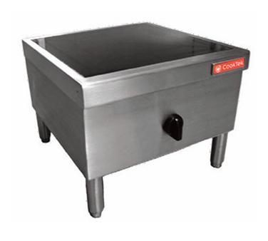 CookTek 646701 induction range, floor model
